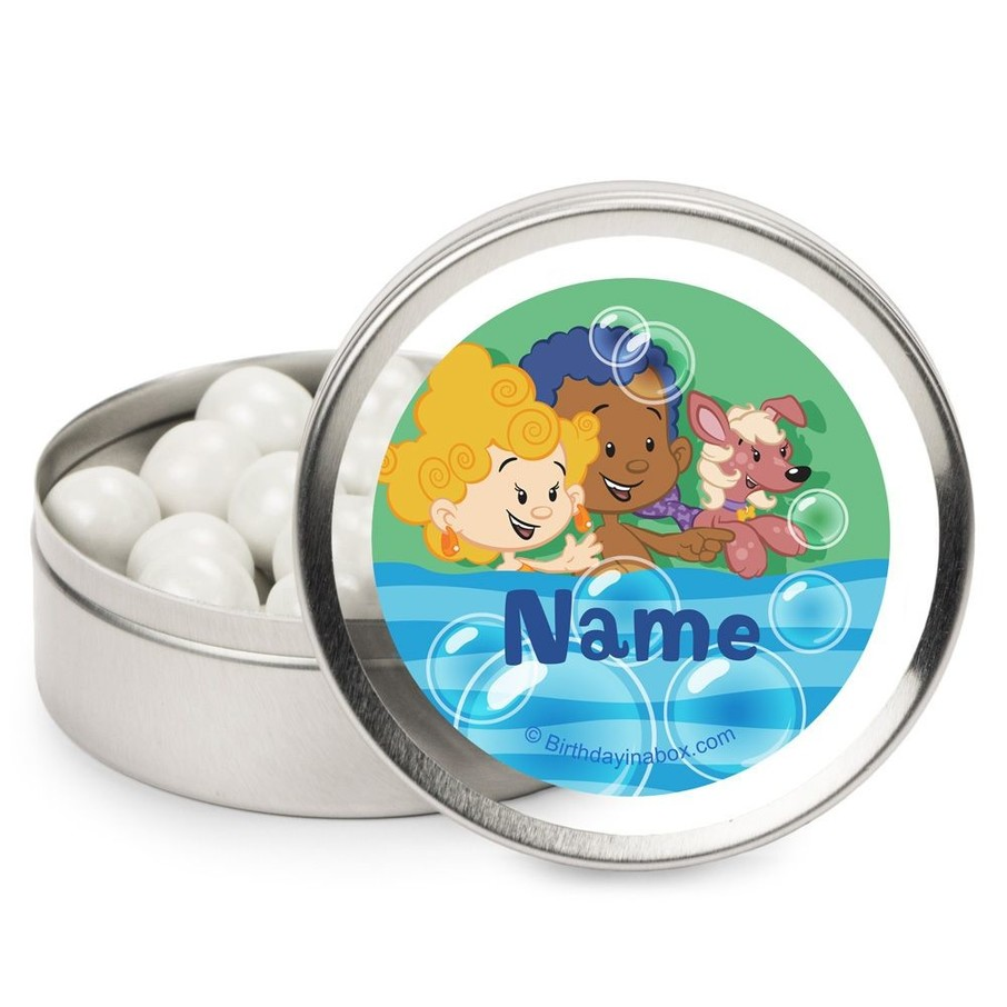 View larger image of Bubble Friends Personalized Candy Tins (12 Pack)