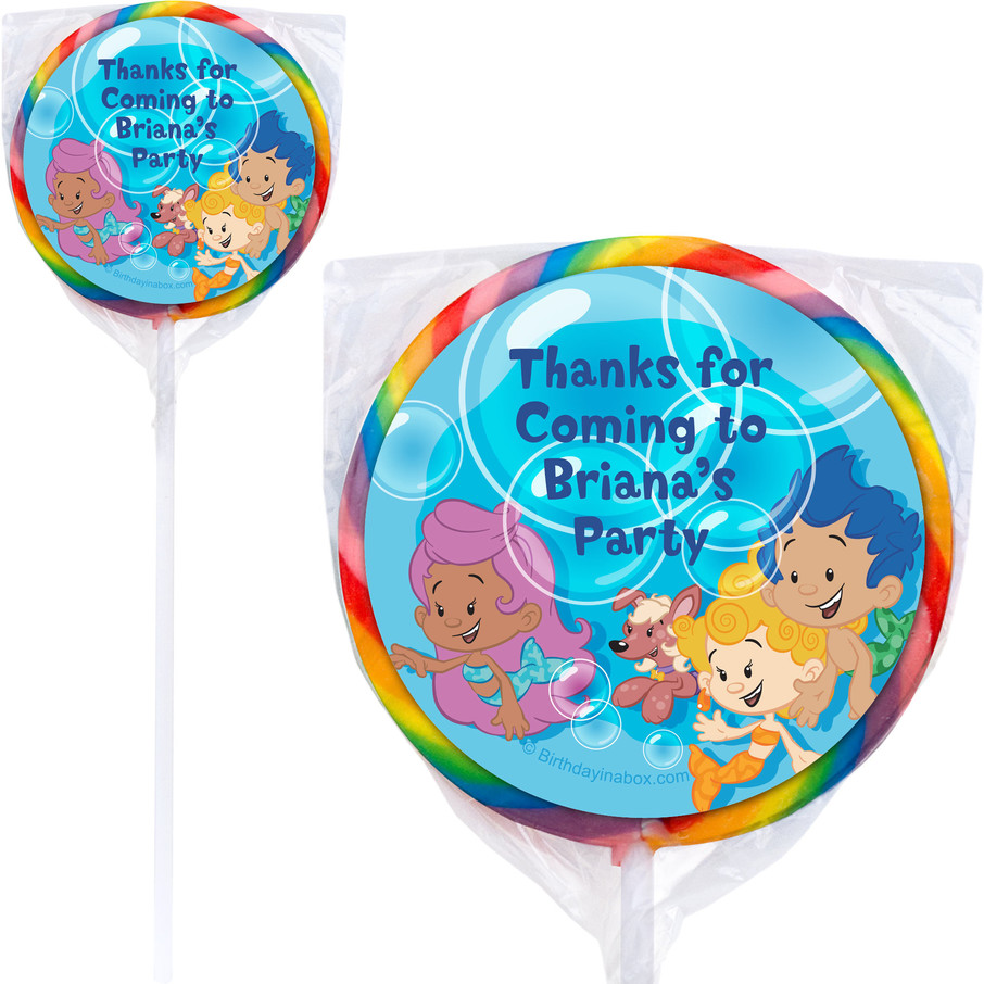 View larger image of Bubble Friends Personalized Lollipops (Set of 12)
