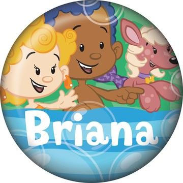 Bubble Friends Personalized Mini Magnet (Each)