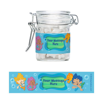 Bubble Friends Personalized Swing Top Apothecary Jars (12 ct)