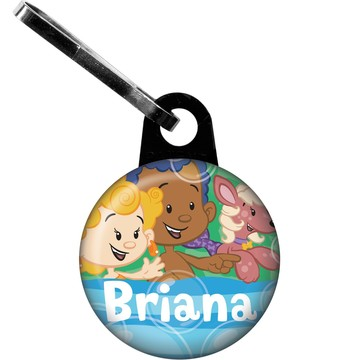 Bubble Friends Personalized Zipper Pull (Each)