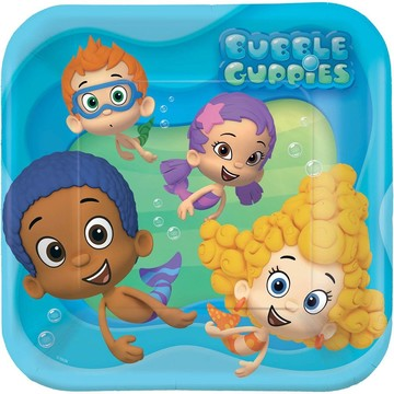 "Bubble Guppies 9"" Luncheon Plates (8 Pack)"