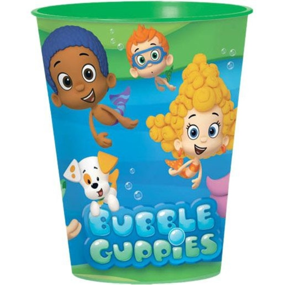 View larger image of Bubble Guppies Favor Cup 16oz (Each)