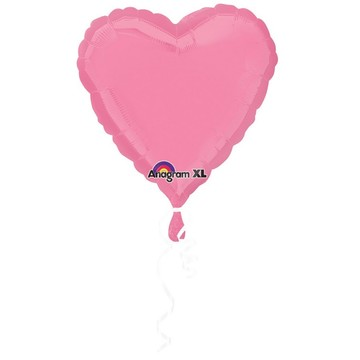 "Bubblegum Pink 18"" Heart Balloon"