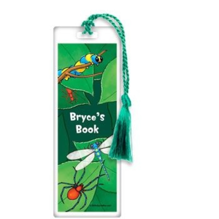 View larger image of Bugs Personalized Bookmark (each)