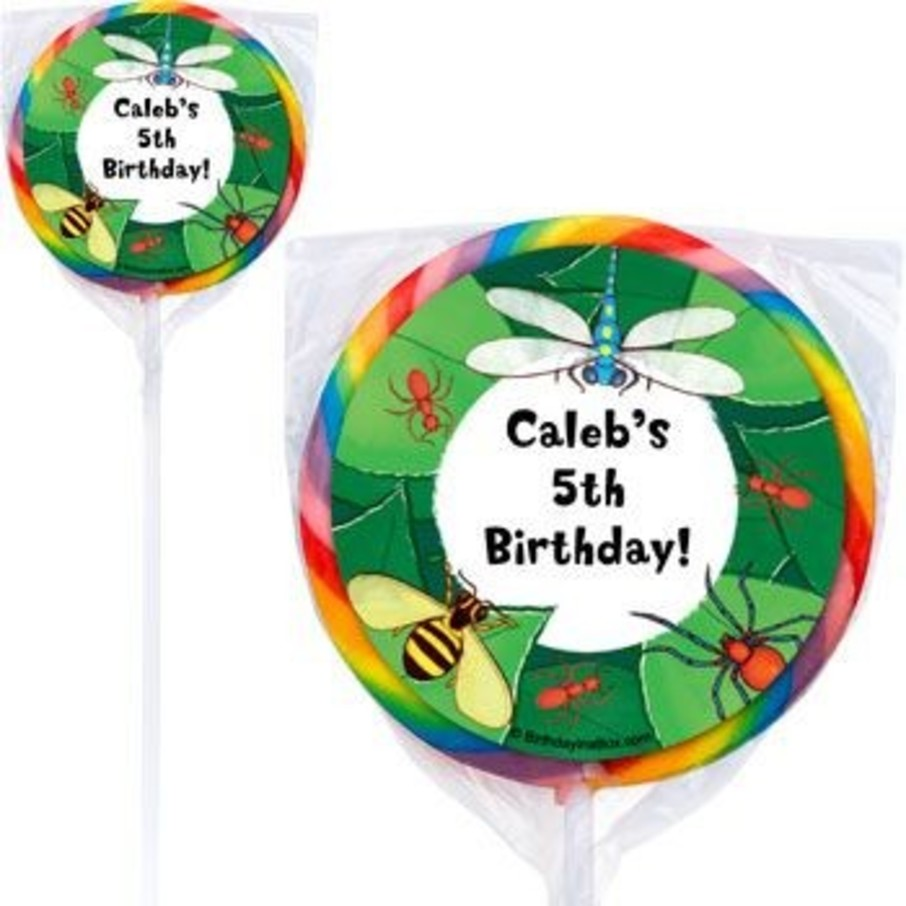 View larger image of Bugs Personalized Lollipops (pack of 12)
