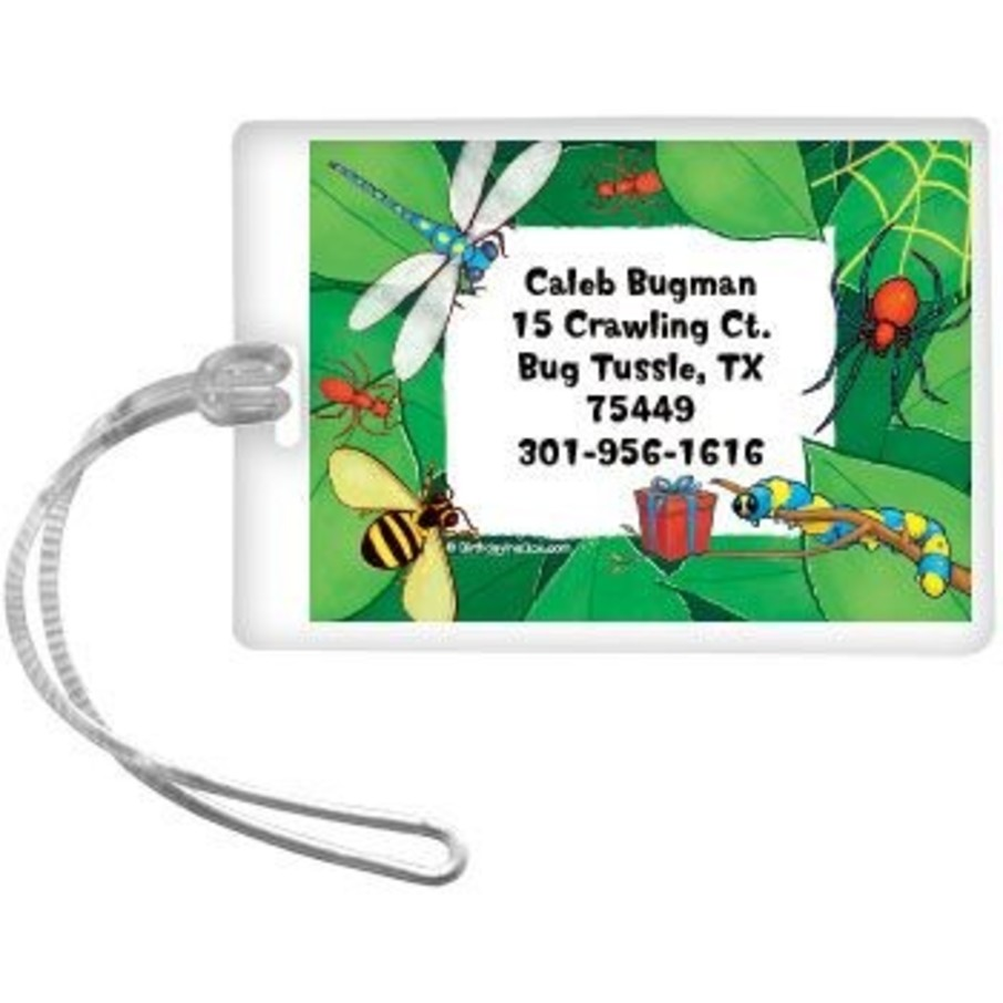 View larger image of Bugs Personalized Luggage Tag (each)