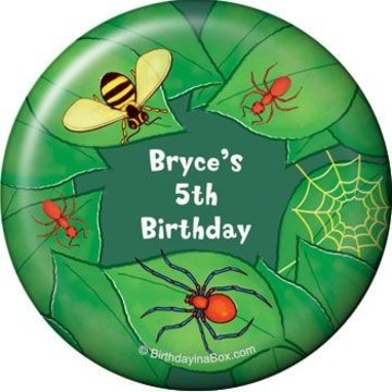 Bugs Personalized Magnet (each)