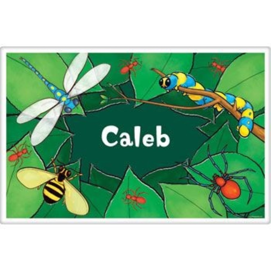 View larger image of Bugs Personalized Placemat (each)