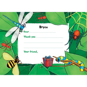Bugs Personalized Thank You Note (each)
