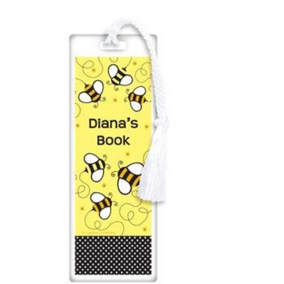View larger image of Bumble Bee Personalized Bookmark (each)
