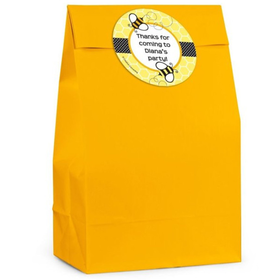 View larger image of Bumble Bee Personalized Favor Bag (Set Of 12)