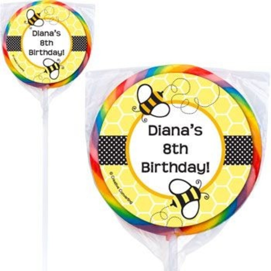View larger image of Bumble Bee Personalized Lollipops (pack of 12)