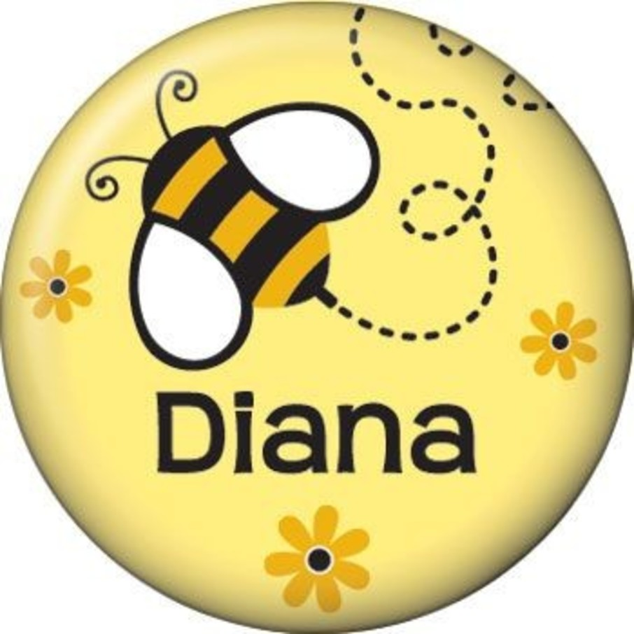 View larger image of Bumble Bee Personalized Mini Magnet (each)