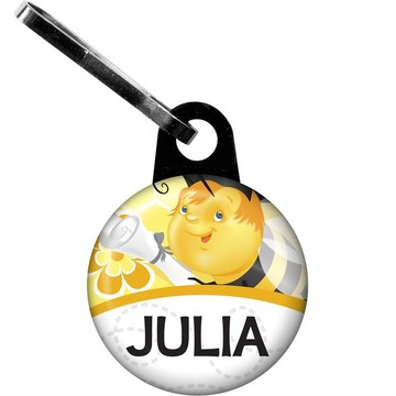 Busy Bee Grad Personalized Zipper Pull (Each)