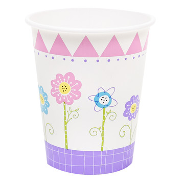 Butterfly Party 9oz Paper Cups (8)