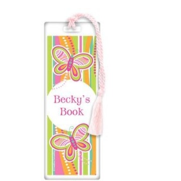 Butterfly Personalized Bookmark (each)