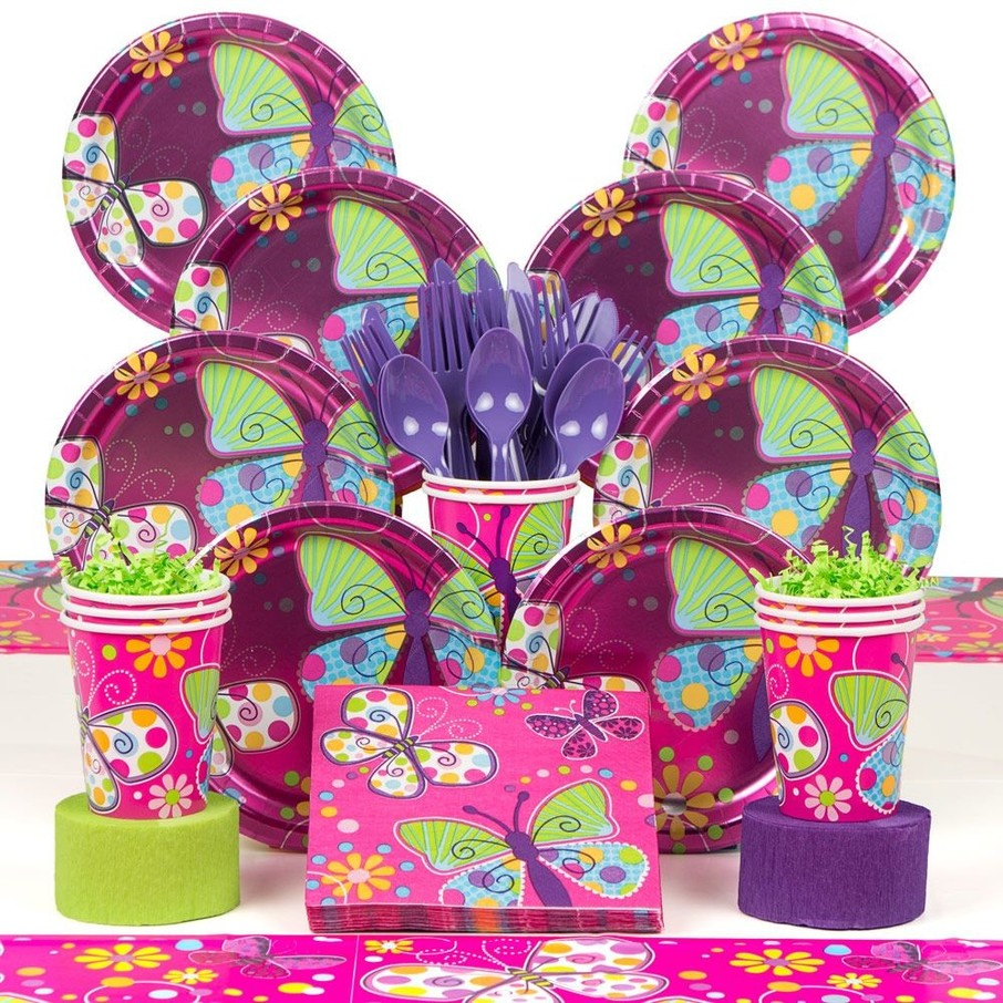 View larger image of Butterfly Sparkle Deluxe Kit (Serves 8)