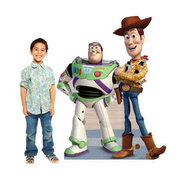 Buzz And Woody (Toy Story) Cardboard Standup