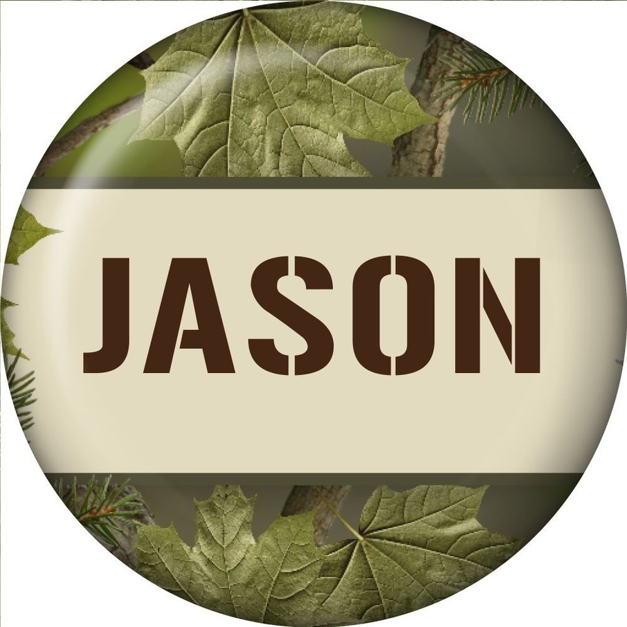 View larger image of Camo Personalized Mini Magnet (Each)
