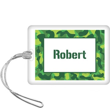 Camouflage Personalized Bag Tag (each)