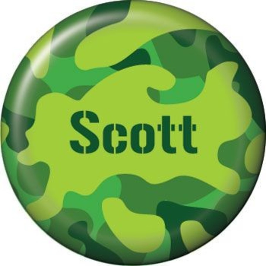 View larger image of Camouflage Personalized Mini Button (each)
