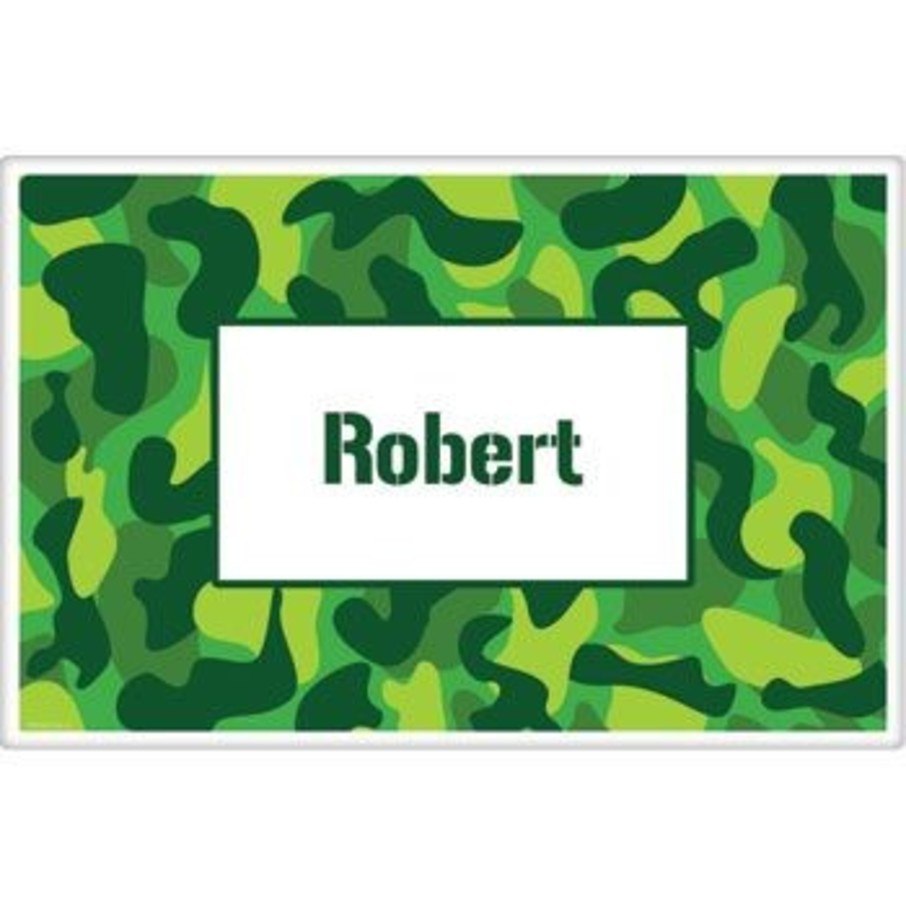 View larger image of Camouflage Personalized Placemat (each)