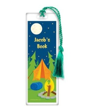 Camping Personalized Bookmark (each)