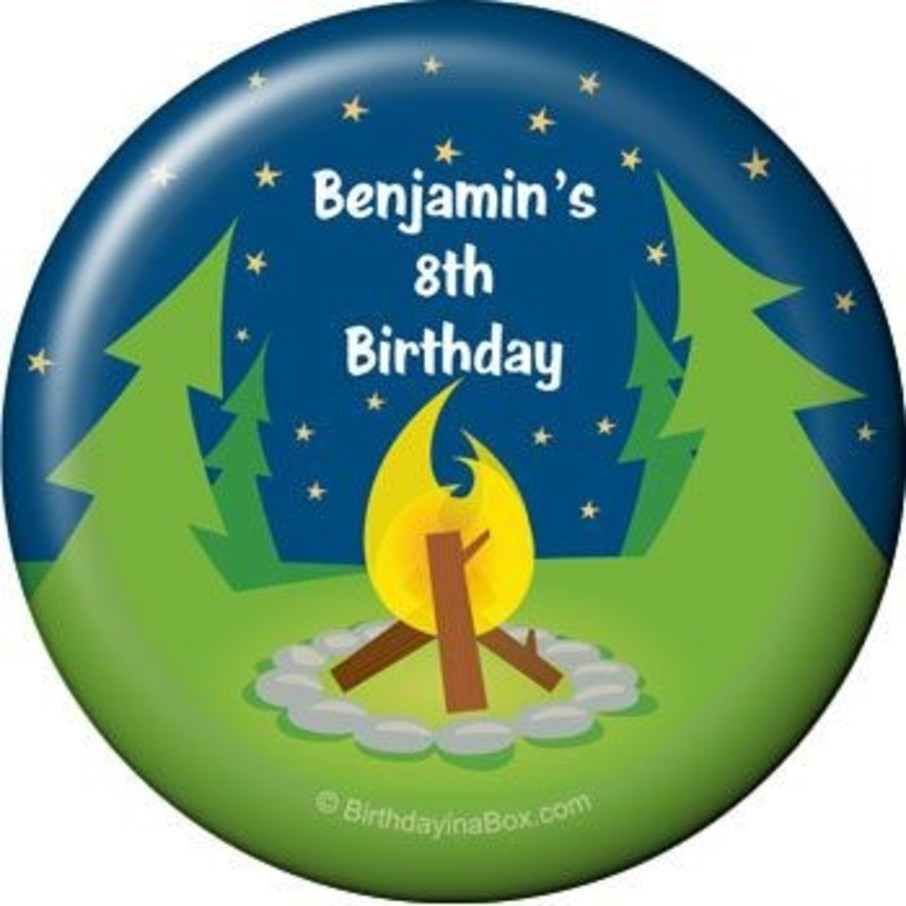 View larger image of Camping Personalized Magnet (each)