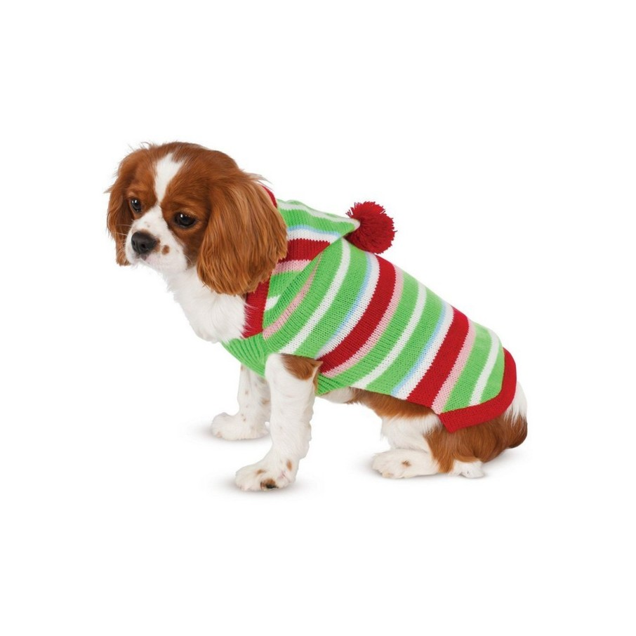 View larger image of Candy Striped Sweater Pet Costume