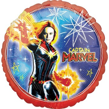 Captain Marvel Foil Balloon