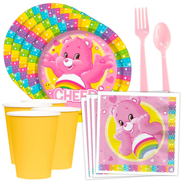 Care Bears Standard Tableware Kit (Serves 8)