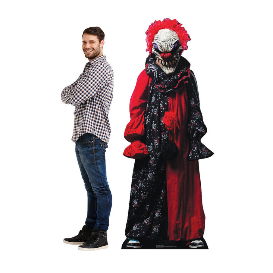 View larger image of Carnival Creepy Clown Cardboard Standup (Each)