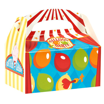 Carnival Games Empty Favor Boxes