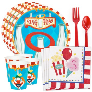 Carnival Games Standard Tableware Kit (Serves 8)