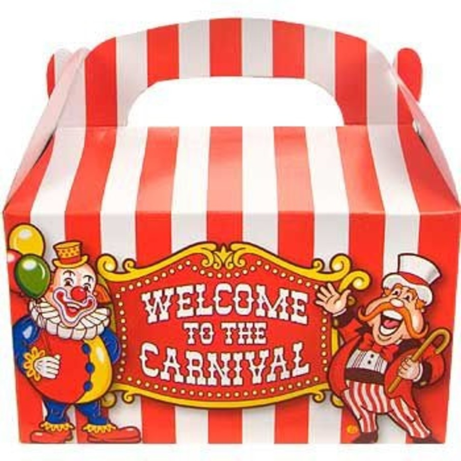 View larger image of Carnival Party Favor Boxes (12-pack)