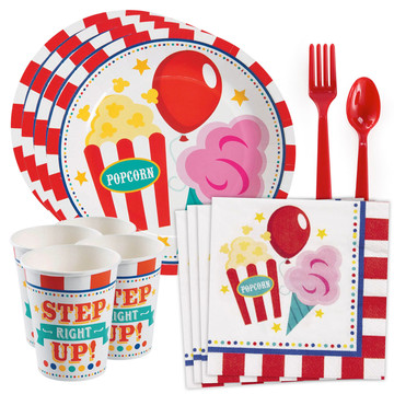 Carnival Standard Tableware Kit (Serves 8)