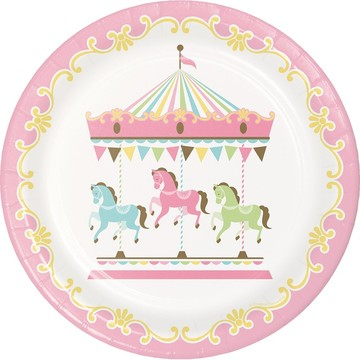 "Carousel 9"" Lunch Plate"