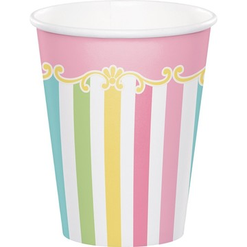 Carousel 9oz Hot/Cold Cup (8)