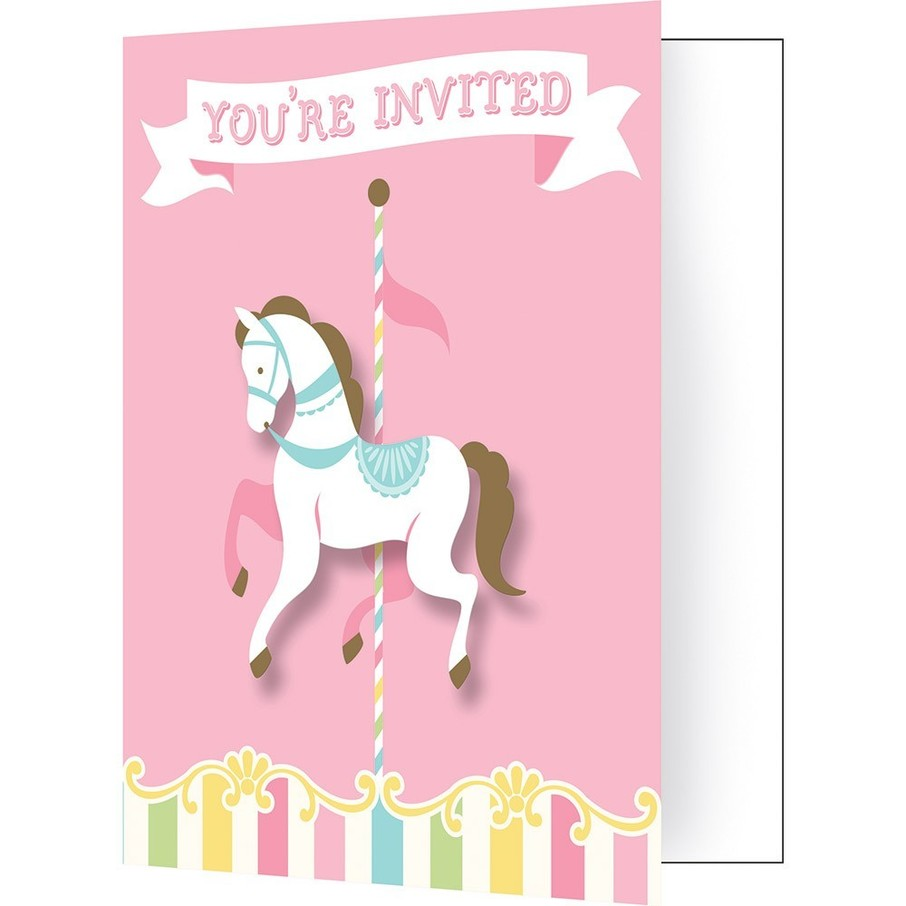 View larger image of Carousel Invitation (8)