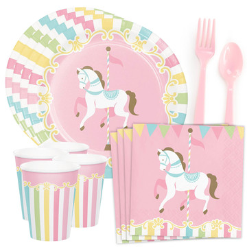 Carousel Standard Tableware Kit (Serves 8)