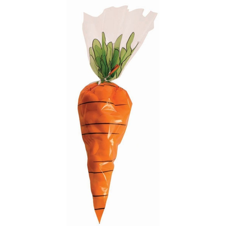View larger image of Carrot Printed Treat Bags (12)