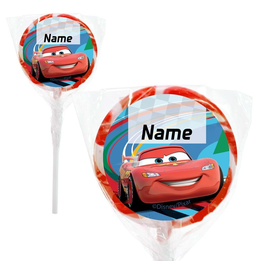 "View larger image of Cars 2 Personalized 2"" Lollipops (20 Pack)"