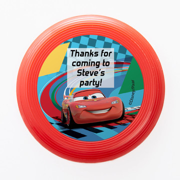 Cars 2 Personalized Mini Discs (Set of 12)