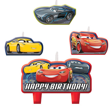 Cars Birthday Candles (4)