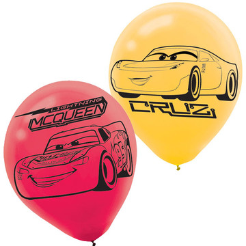 Cars Latex Balloons (6)