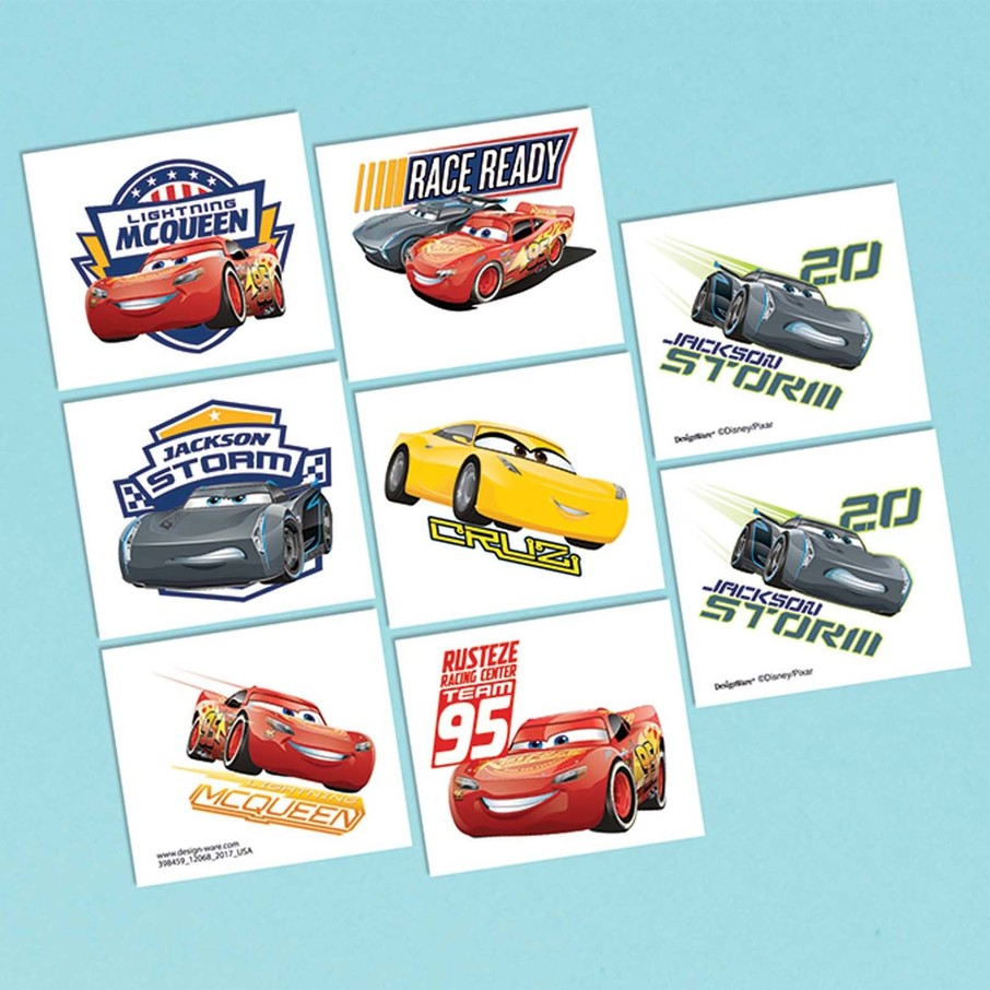 View larger image of Cars Tattoo Sheet (1)
