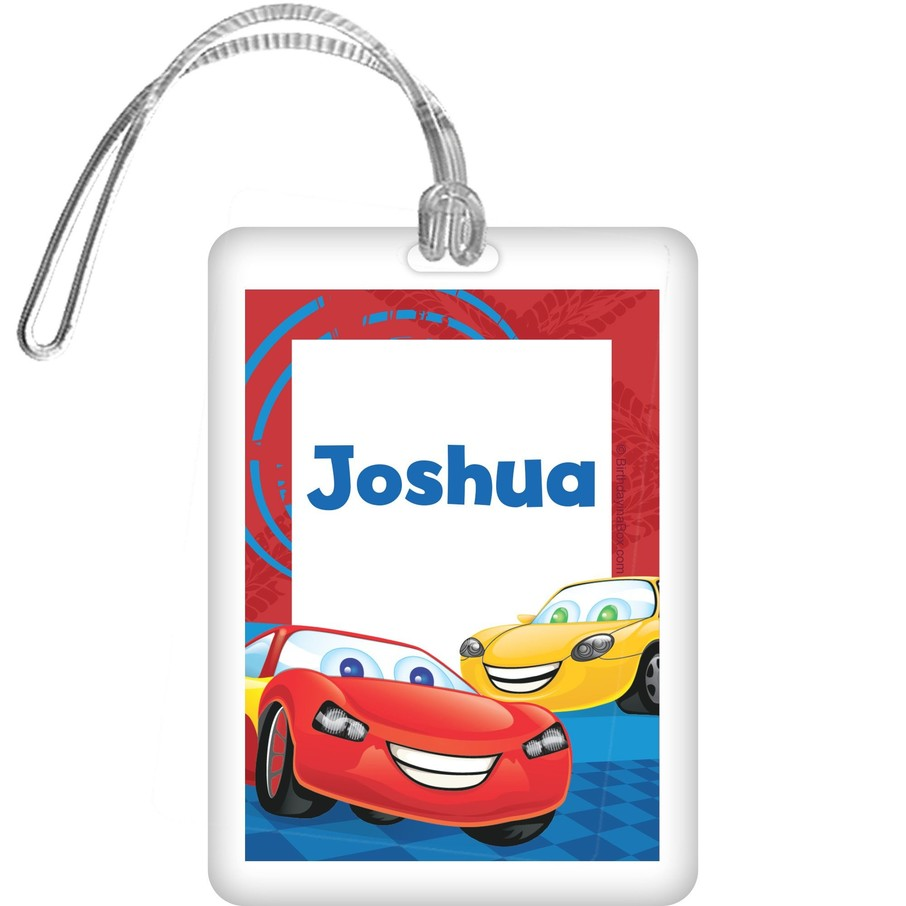 View larger image of Cars Too Personalized Bag Tag (each)