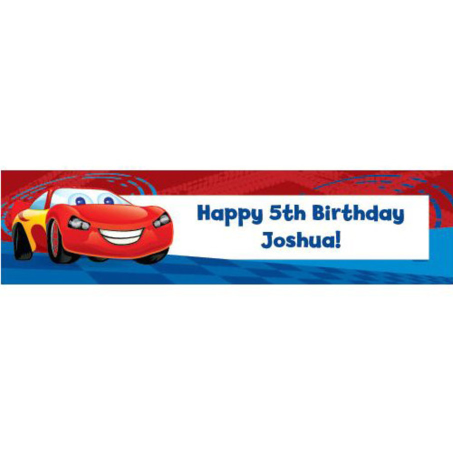 View larger image of Cars Too Personalized Banner (each)