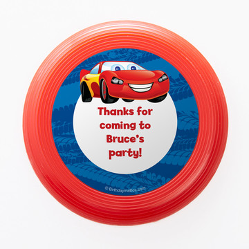 Cars Too Personalized Mini Discs (Set of 12)